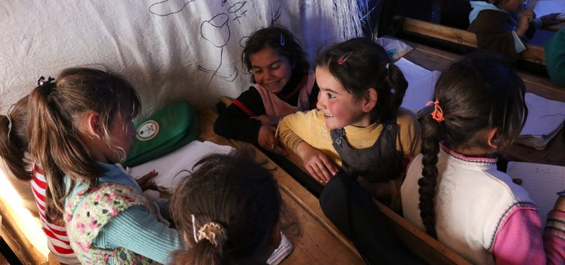 SYRIAN CHILDREN HOLD ON TO EDUCATION DESPITE CHALLENGES