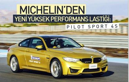 MICHELIN'den yeni yüksek performans lastiği : Pilot Sport 4S