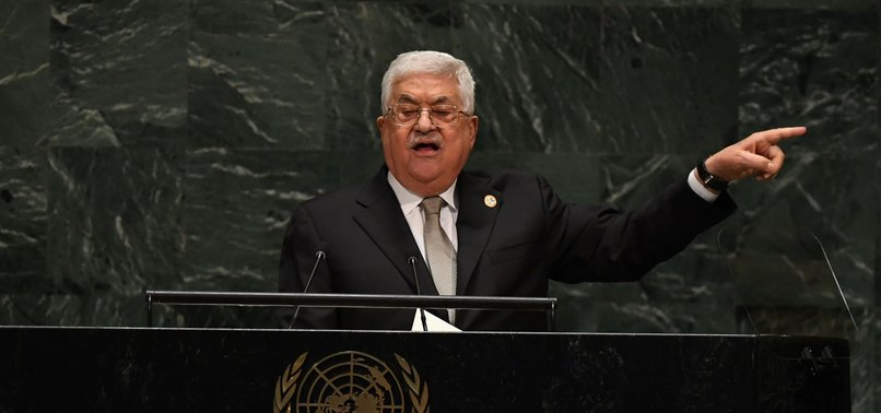 PALESTINE EXPECTS UN TO IMPLEMENT RESOLUTIONS: ABBAS