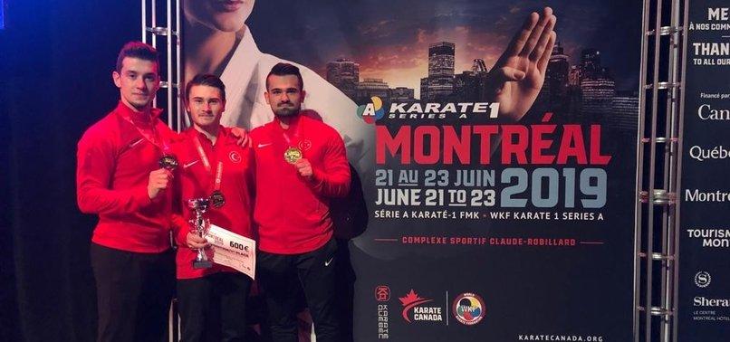 TURKEY WINS 9 MEDALS IN CANADA KARATE TOURNAMENT