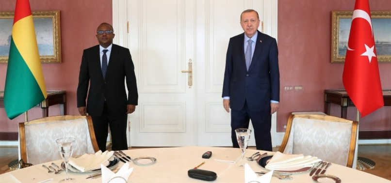 TURKISH, GUINEA-BISSAU LEADERS MEET IN ISTANBUL TO DISCUSS BILATERAL RELATIONS