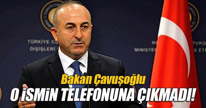 Çavuşoğlu o isimle görüşmesini iptal etti