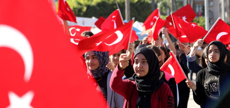 95TH ANNIVERSARY OF  THE REPUBLIC DAY CELEBRATED ACROSS TURKEY