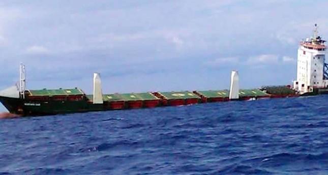 Turkish vessel with 16 crew sinks off Sicily coast