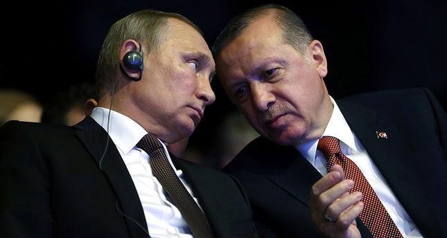 أردوغان يلتقي بوتين الشهر القادم لتوسيع مجالات التعاون بين البلدين