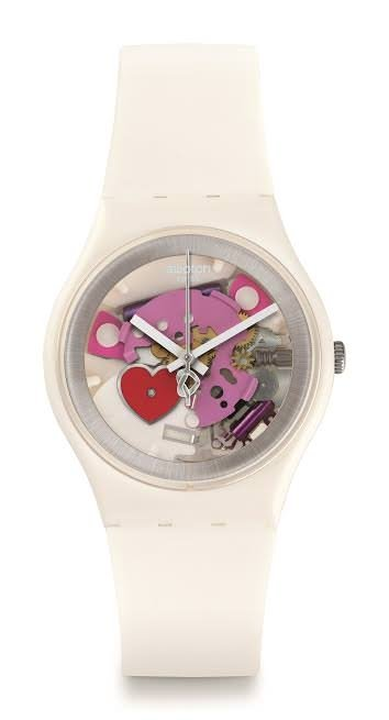 Swatch'tan sevgililer günü saati