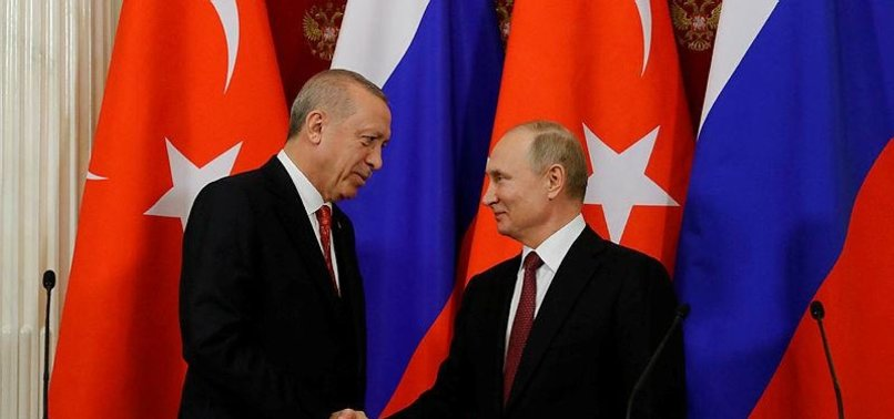 RUSSIAN, TURKISH PRESIDENTS TO MEET ON APRIL 8