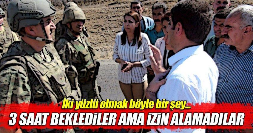 HDP ve DTK'lıların Şırnak'ta çadırda yaşayanları ziyaretine izin verilmedi