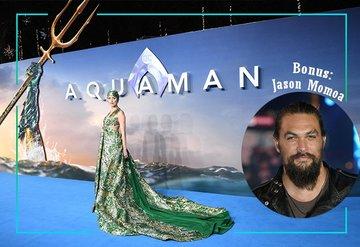 Amber Heard Aquaman Galasında