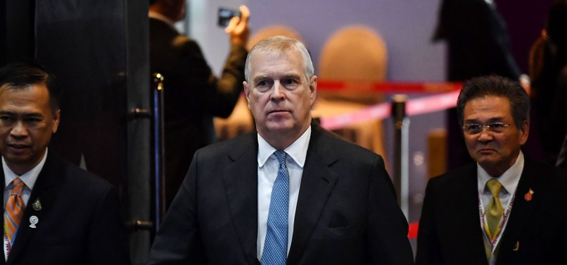 BRITAINS PRINCE ANDREW STEPS DOWN FROM PUBLIC DUTIES