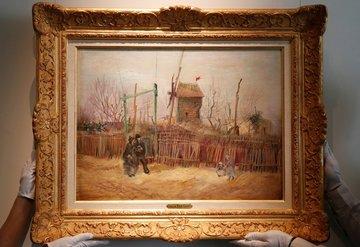 Van Gogh'un 'Montmartre' eseri ilk kez görüntülendi
