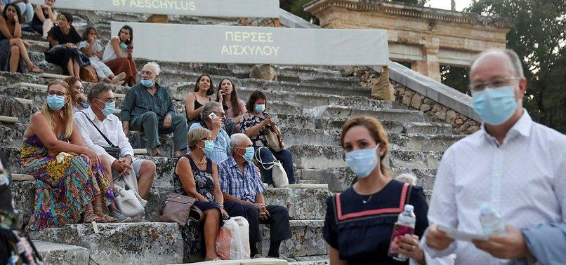 GREECE RECORDS MORE THAN 5,000 CORONAVIRUS INFECTIONS