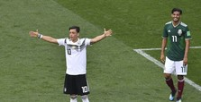 Defending champion Germany loses 1-0 to Mexico