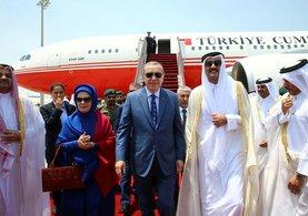 Cumhurbaşkanı Erdoğan'a Katarlılardan övgü dolu sözler