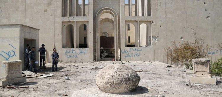Yüzde 98'i tahrip edilen Musul Müzesi ihtişamlı günlerine dönmeyi bekliyor