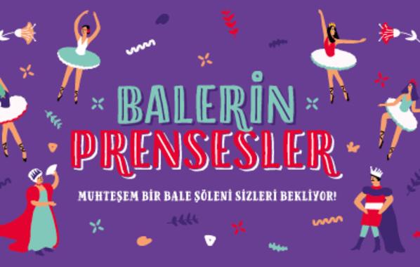 Balerin Prensesler – İstanbul Çocuk Etkinlikleri