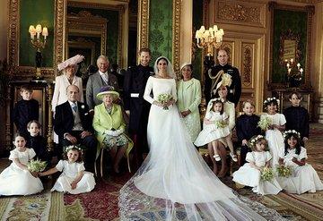Prens Harry ile Meghan Markle'ın düğün fotoğrafları