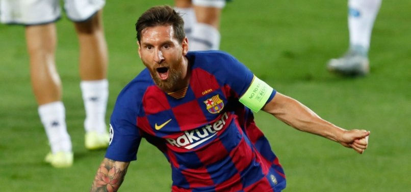 MESSI HELPS BARCELONA SINK NAPOLI TO REACH LAST EIGHT IN UEFA CHAMPIONS LEAGUE
