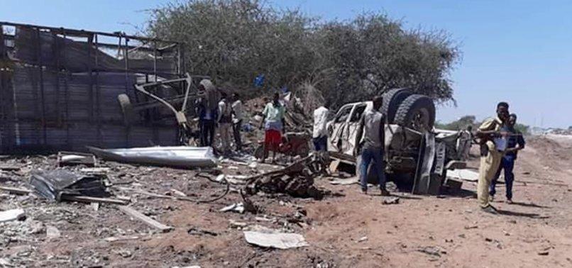 AT LEAST 7 KILLED, DOZENS WOUNDED IN CAR BOMB BLAST NEAR SOMALI CAPITAL