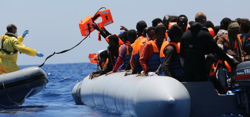 104 UNDOCUMENTED MIGRANTS RESCUED OFF LIBYAN COAST