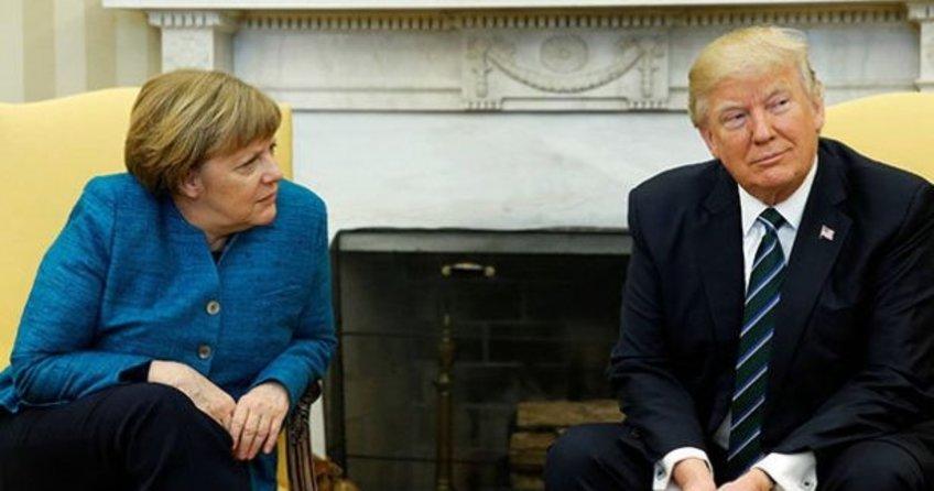 Donald Trump'tan Merkel'e Türkiye dersi