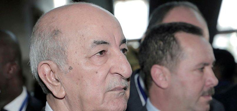 ALGERIA PRESIDENT HOSPITALISED AMID COVID SCARE