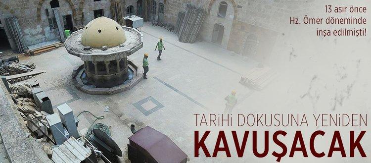 Bab'daki cami tarihi dokusuna yeniden kavuşacak