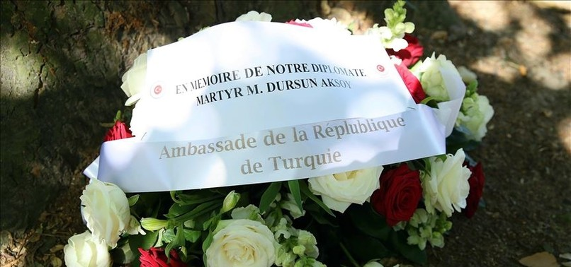 TURKISH DIPLOMAT KILLED BY ARMENIAN TERRORISTS IN BRUSSELS COMMEMORATED