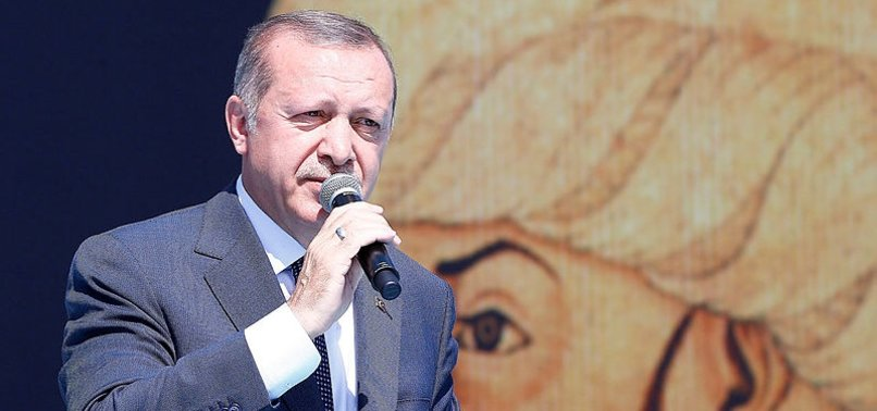 PRESIDENT ERDOĞAN URGES PEOPLE TO LEARN FROM TURKEYS HISTORY