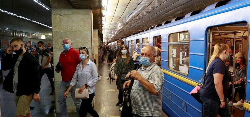 UKRAINE REPORTS RECORD DAILY HIGH IN CORONAVIRUS DEATHS
