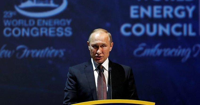 Putin: Erdoğan'la Türk Akımı'nı gerçekleştirmek istiyoruz