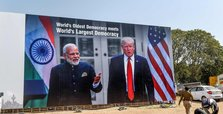 Indian authorities scramble to give Trump a mega-rally