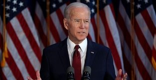 Biden vows US will never recognize Russian hold on Crimea
