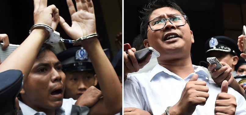 REUTERS REPORTERS IN JAIL DESPITE MASS PARDONS IN MYANMAR
