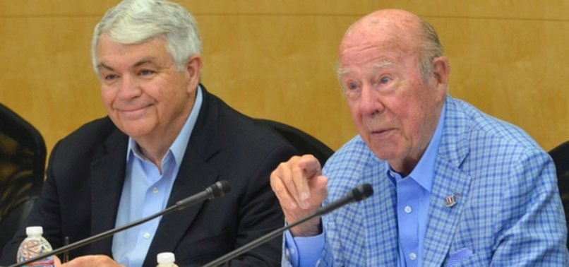 FORMER SECRETARY OF STATE GEORGE SHULTZ DEAD AT 100
