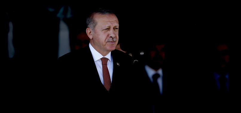 TURKEY WILL ROOT OUT TERROR NESTS IN EAST OF EUPHRATES: ERDOĞAN