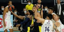 Fenerbahçe lose to Real Madrid in EuroLeague