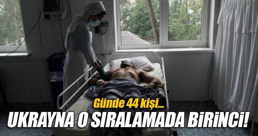 Ukrayna'da her gün 44 kişi AIDS'e yakalanıyor