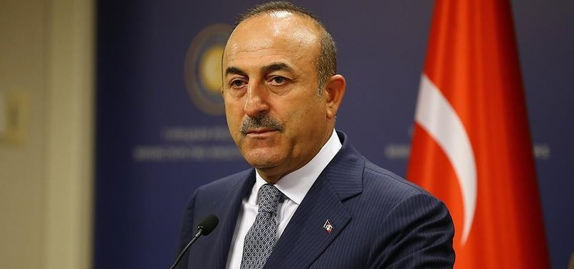 TURKISH FOREIGN MINISTER MEETS KYRGYZ COUNTERPART IN ANKARA