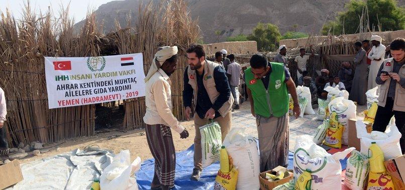 TURKISH AID AGENCY PROVIDES HUMANITARIAN AID IN YEMEN