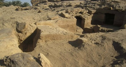 Swedish archaeologists have unearthed a dozen burial sites near the southern city of Aswan that date back almost 3,500 years to the New Kingdom era of ancient Egypt, the Antiquities Ministry said...