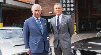 Prens Charles yeni James Bond filminde!