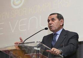 Dursun Özbek:''Galatasaray, yeni basketbol salonuna kavuşuyor.''