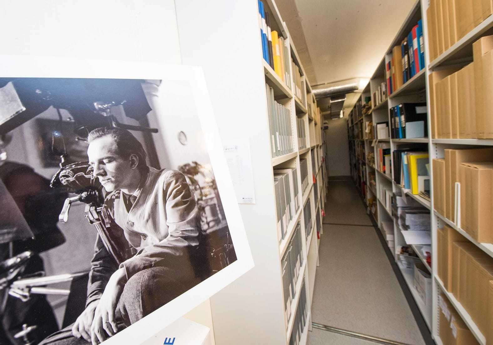 Ingmar Bergman archives located at the Film House in Stockholm.