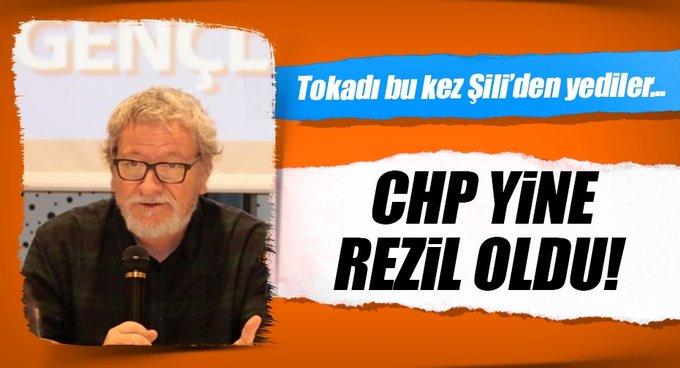 Şilili reklamcı CHPyi rezil etti