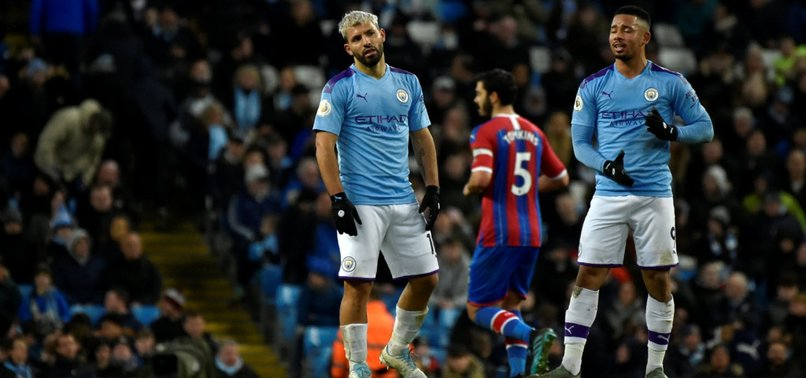 CRYSTAL PALACE HIT LATE TO FRUSTRATE MANCHESTER CITY