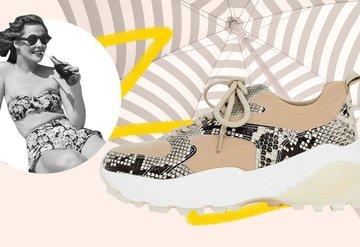 Tüm yaz ayağınızdan çıkarmayacağınız sneakerlar!