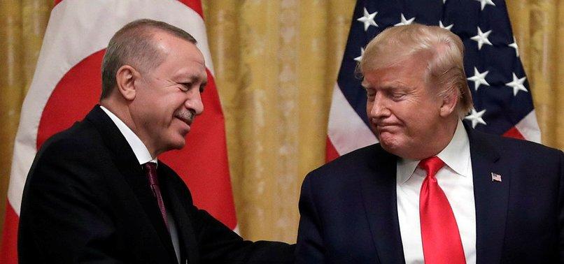 TURKISH AND US PRESIDENTS DISCUSS LIBYA, ECONOMY OVER PHONE
