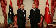 Turkey's Erdoğan meets Libyan PM Sarraj in Istanbul