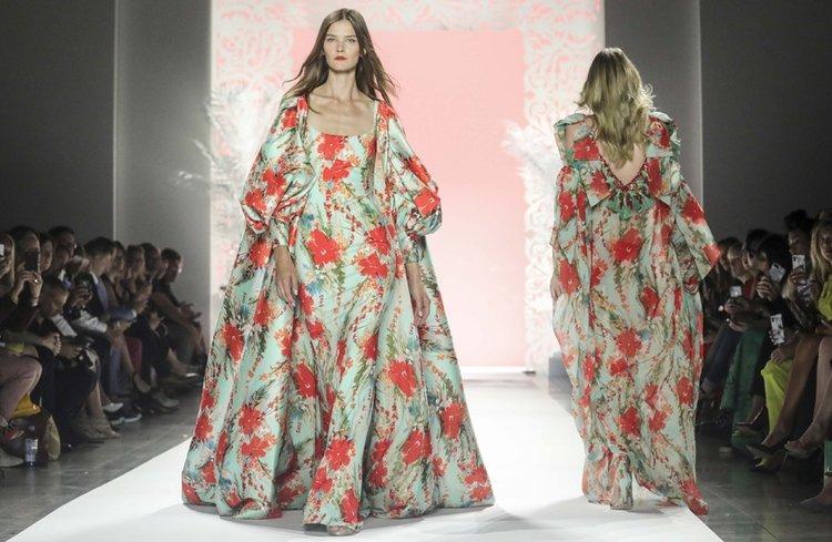 Badgley Mischka İlkbahar 2020 koleksiyonu